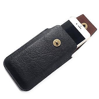 Skórzana pokrywa pionowa obudowa z magnetycznym zamknięciem dla Nokia Lumia 1020