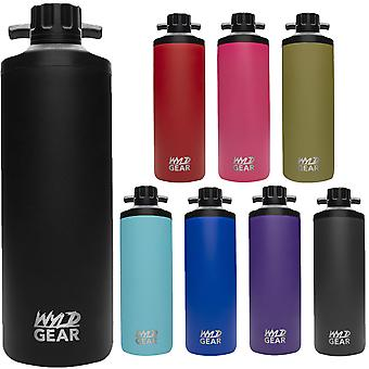 Wyld Gear Mag Series 18 oz. Botella de agua de acero inoxidable con aislamiento al vacío