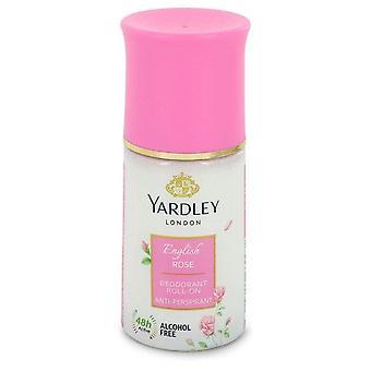 English Rose Yardley Deodorant Roll-On Alcohol Free By Yardley London 1.7 oz Deodorant Roll-On Alcohol Free