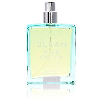 Clean Warm Cotton Eau De Toilette Spray (Tester) By Clean 2 oz Eau De Toilette Spray