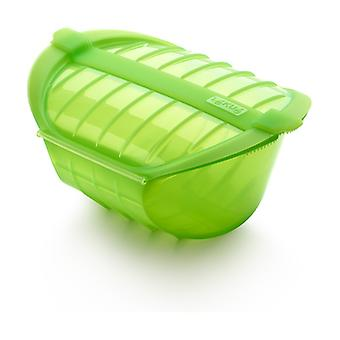 Deep steam case with tray 3-4 pers 1 unit (Green)