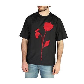 Emporio Armani -BRANDS - Bekleidung - T-Shirts - W1CFETW193C_037 - Herren - black,red - L