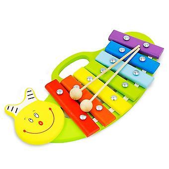 """Alatoys خشبية Xylophone """"الحلزون"""" رسمت"""