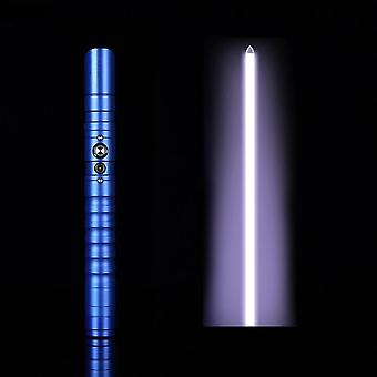 Bbq Lightsaber Led Flashing Metal Handle Heavy Dueling Sword Cosplay Toy