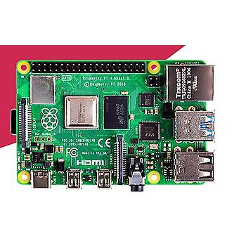 Pi 4 Modell B 2gb Ram Bcm2711 Quad Core Cortex-a72 Arm V8 1.5ghz Stöd 2.4/5.0