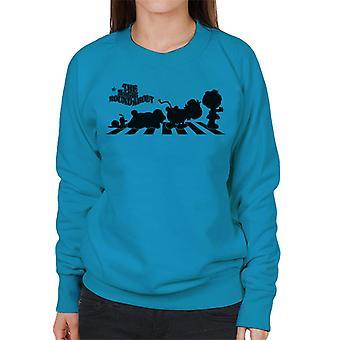 The Magic Roundabout Characters Silhouette Women's Sweatshirt