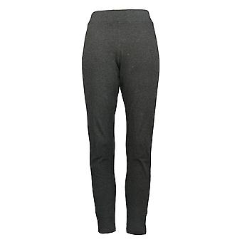 HUE Leggings Utopia Soft Cotton-Blended Gray 692169