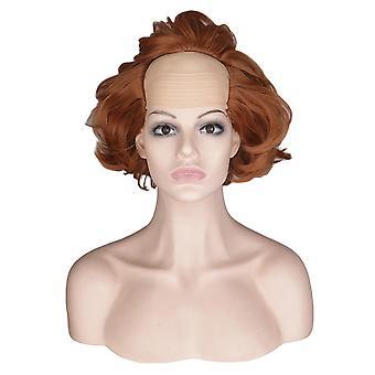 Halloween cosplay paryk maske hovedbeklædning