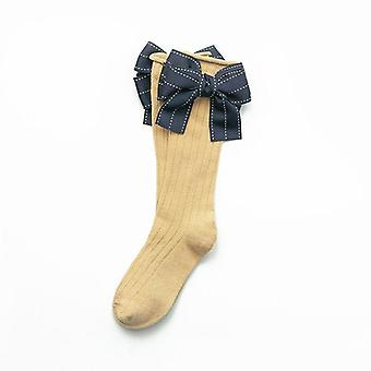 Baby Knee High Cotton Soft Toddlers Long Socks