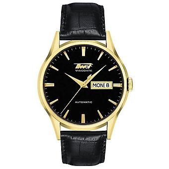 Tissot Heritage automatisk skinn Herre Watch T0194303605101