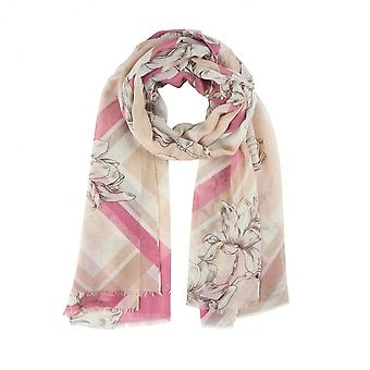 SOYACONCEPT Scarf Pink Blue Or Brown 50980