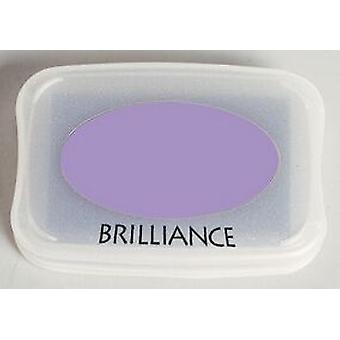 Almohadilla de tinta de brillantez Tsukineko - Púrpura perlado