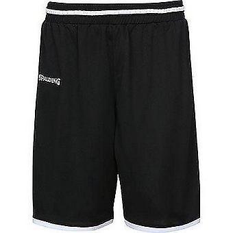 Spalding Move Shorts Abbigliamento basket Maschile FIBA Confermato - Nero/Bianco