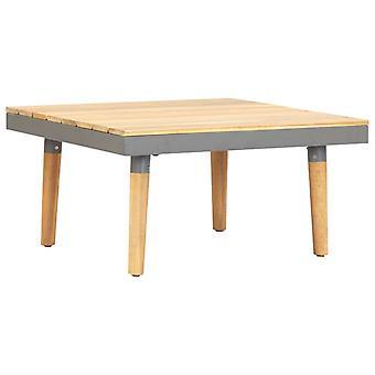vidaXL ガーデン コーヒー テーブル 60×60×31.5 cm ソリッド ウッド アカシア