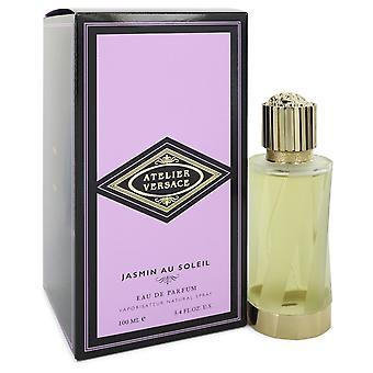 Jasmin Au Soleil by Versace Eau De Parfum Spray (Unisex) 3.4 oz