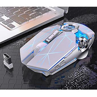2.4g Usb Receiver Rechargeable Wireless Mouse For Laptop Computer