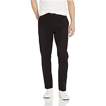 Goodthreads Men's Athletic-Fit Wrinkle Free Dress Chino Pant, Black, 32W x 29L