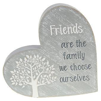 Joe Davies Tree of Life Stående Hjärta - Vänner
