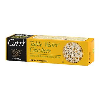 Carr ' s Table vann kjeks stekt hvitløk & urter