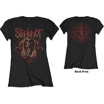 Slipknot - Ond heks kvinners medium t-skjorte - svart