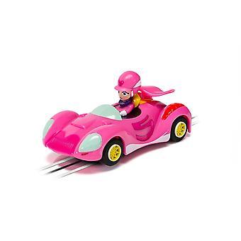 Wacky Races Penelope Pitstop Micro Scalextric Car
