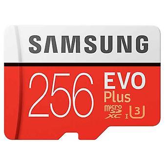 Carte mémoire Micro SD avec adaptateur Samsung MB-MC256GA/EU SDXC UHS-I Classe 10 256 Go