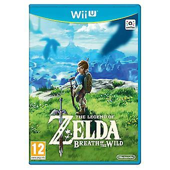 The Legend Of Zelda Breath Of The Wild Wii U Game