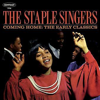 Staple Singers - Coming Home: Cd för tidiga inspelningar