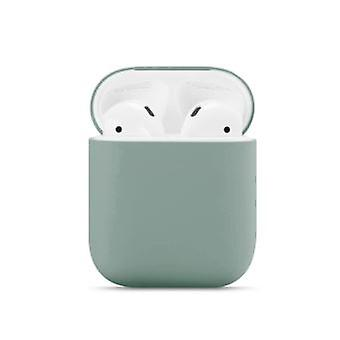 N Style Solid Color Liquid Silicone Case For Your Apple Airpods (2016) / (2019)