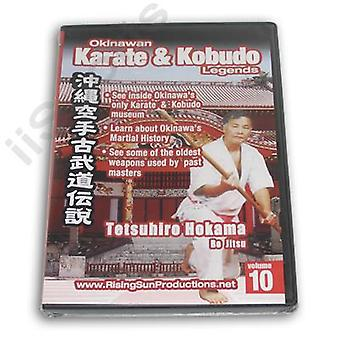 Karate Kobudo de Okinawa #10 Dvd Hokama Bo Jitsu -Vd6967A