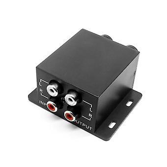 Amplificateur de régulateur audio de voiture, caisson de basses, contrôleur d'égaliseur stéréo, Rca