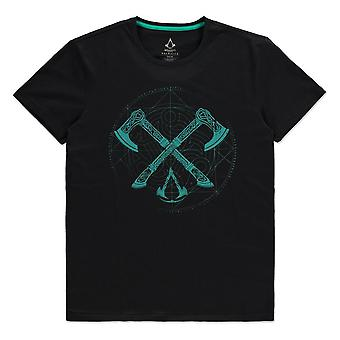 ASSASSIN'S CREED - Axes Mens Medium T-Shirt - Black