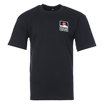 Edwin Sunset On MT Fuji Crew Neck T-Shirt - Black