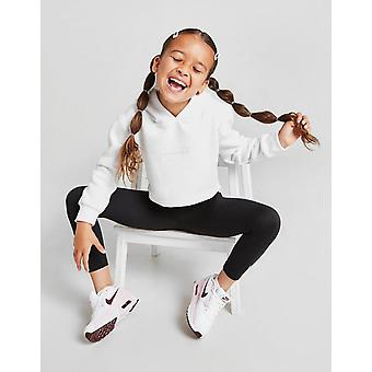 New Sonneti Girls' Mini Essential Cropped Hoodie from JD Outlet White