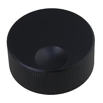 Musical instrument amplifier knobs 32x13mm black sandblasting audio control tuning knob fits 6mm dia bore