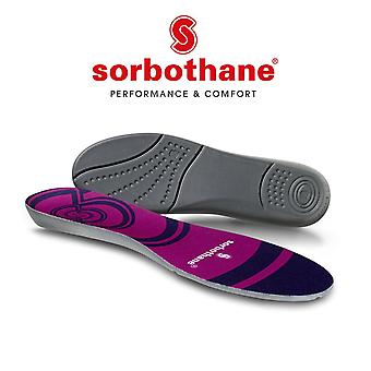 Sorbothane Cush N Step Antibacterial Insert Sports Shoe Injury Therapy Insole