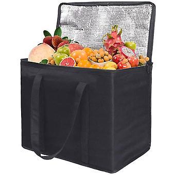 حقيبة ناعمة باردة، صندوق حقيبة مبردة، حقيبة توصيل طعام حرارية 30لتر، حقيبة غداء نزهة معزولة كبيرة، صندوق بارد، أكياس تسوق بقالة، كيس تبريد لكامبي