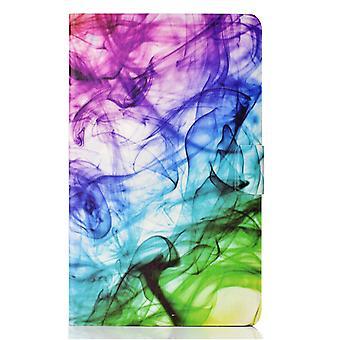 Hülle für Samsung Galaxy Tab A7 Cover mit Auto Sleep / Wake Muster Magnetisch - Smog