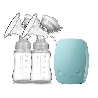 両側電気乳房ポンプ、高い吸引、自動マッサージおよび母乳育児装置