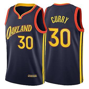 Miesten #30 Stephen Curry Golden State Warriors White Road Association Edition Dri-fit Swingman Basketball Jersey