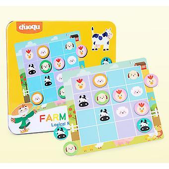 Magnetyczna planszy do gier Sudoku Edukacyjna logiczna myśl treningowa zabawki