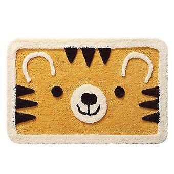 Cute Bear Doormat Rug Cartoon Indoor Home Door Mat Non-slip Bath Rug