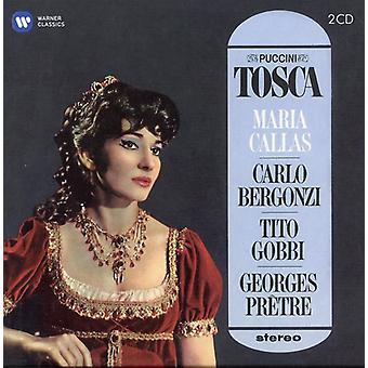 Puccini/Callas/Bergonzi/Gobbi/Pretre - Tosca (1964-1965) [CD] USA importeren