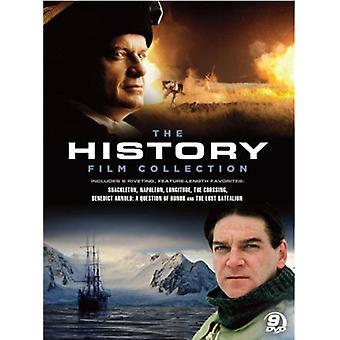 A coleção de filmes de história [9 discos] importação EUA [DVD]