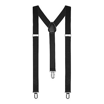 BOOLAVARD Braces Men Women suspenders Y shape Style Clips narrow neon colored