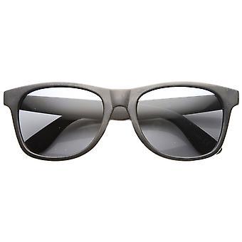 Occhiali da sole cerchiati di Mens Retro classico plastica pulita cornuto