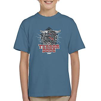 NY Terror Dogs Ghostbusters Kid's T-Shirt