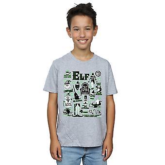 Elf Boys Infographic Poster T-Shirt