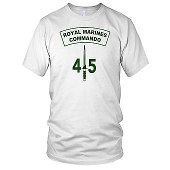 Royal Marines 45 Commando Dagger męskie T Shirt