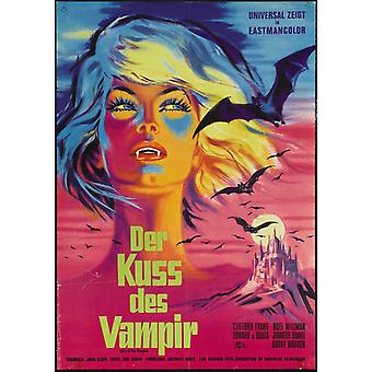Kiss of the Vampire The Movie Poster (11 x 17)